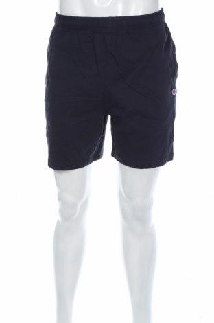 Pantaloni scurți de bărbați Champion, Mărime M, Culoare Albastru, Bumbac, Preț 47,91 Lei