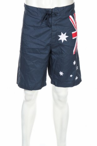 Мъжки къс панталон Crane, Размер L, Цвят Син, Полиестер, Цена 6,30лв.
