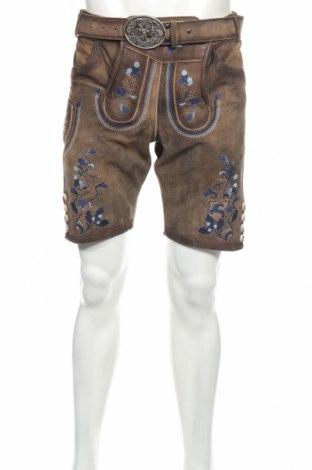 Мъжки къс панталон Kruger, Размер M, Цвят Бежов, Естествена кожа, Цена 48,30лв.