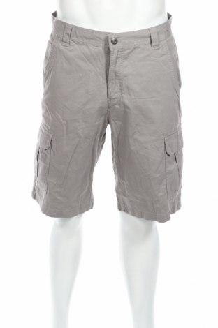 Pantaloni scurți de bărbați Westbay, Mărime M, Culoare Gri, Bumbac, Preț 42,44 Lei