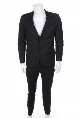 Pánsky oblek  Hugo Boss, Veľkosť M, Farba Čierna, Vlna, Cena  160,52€