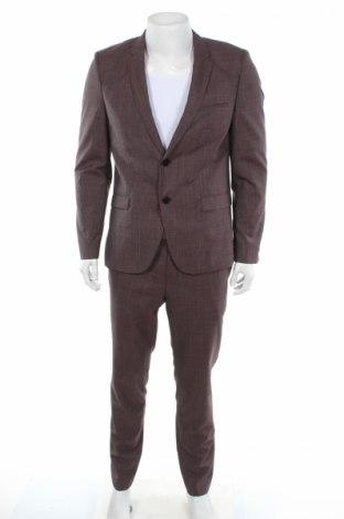 Pánsky oblek  Hugo Boss, Veľkosť L, Farba Viacfarebná, Vlna, Cena  267,53€