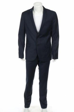 Pánsky oblek  Kiomi, Veľkosť L, Farba Modrá, 70% polyester, 30% viskóza, Cena  50,52€