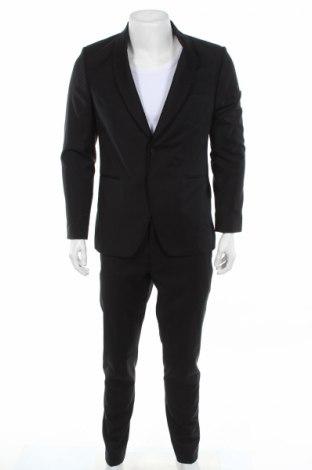 Pánsky oblek  Michael Kors, Veľkosť M, Farba Čierna, Vlna, Cena  319,07€