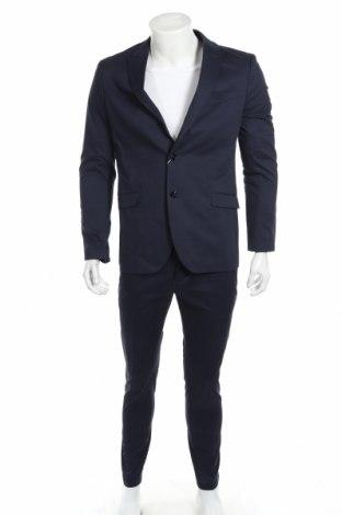 Pánsky oblek  Pier One, Veľkosť M, Farba Modrá, 97% bavlna, 3% elastan, Cena  74,44€