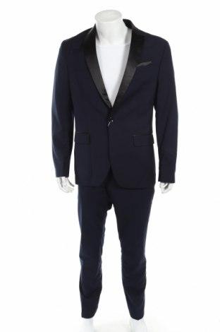 Pánsky oblek  Pier One, Veľkosť L, Farba Modrá, 80% polyester, 20% viskóza, Cena  73,92€