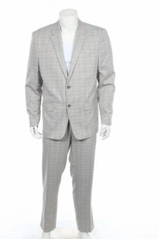 Pánsky oblek  River Island, Veľkosť XL, Farba Sivá, Polyester, Cena  65,48€