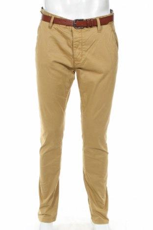 Ανδρικό παντελόνι Indicode, Μέγεθος L, Χρώμα  Μπέζ, 98% βαμβάκι, 2% ελαστάνη, Τιμή 20,04€