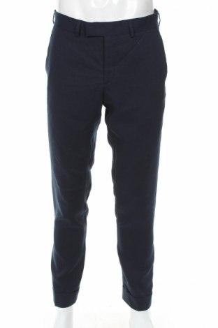 Мъжки панталон J.Lindeberg, Размер M, Цвят Син, Лен, Цена 112,77лв.