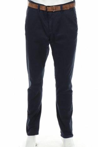 Ανδρικό παντελόνι Tom Tailor, Μέγεθος L, Χρώμα Μπλέ, 97% βαμβάκι, 3% ελαστάνη, Τιμή 22,41€