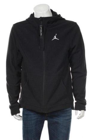 Мъжки поларен суичър Air Jordan Nike, Размер L, Цвят Сив, Полиестер, Цена 76,16лв.