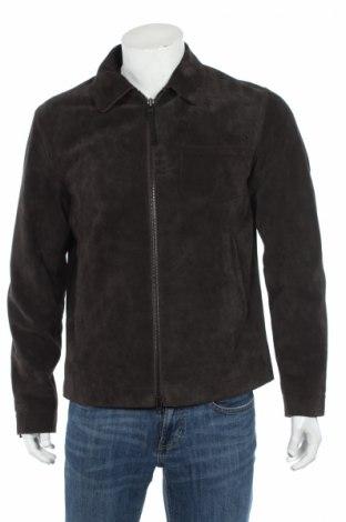Мъжко кожено яке Closed, Размер M, Цвят Зелен, Естествена кожа, Цена 249,60лв.