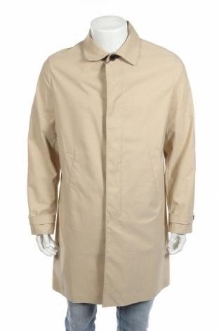 Pánský kabát  Zara, Rozměr L, Barva Béžová, 100% polyester, Cena  855,00Kč