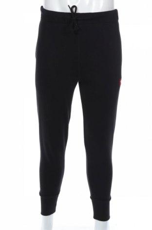 Pantaloni trening de bărbați Diesel, Mărime M, Culoare Negru, 80% bumbac, 20% poliester, Preț 212,95 Lei
