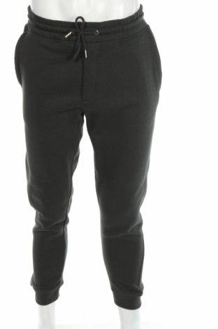 Pantaloni trening de bărbați Jack & Jones, Mărime M, Culoare Verde, 50% bumbac, 50% poliester, Preț 110,00 Lei