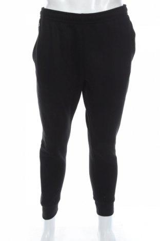 Мъжко спортно долнище Lacoste, Размер L, Цвят Черен, 83% памук, 17% полиестер, Цена 64,08лв.