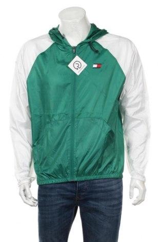 Мъжко спортно яке Tommy Hilfiger, Размер M, Цвят Зелен, Цена 106,08лв.