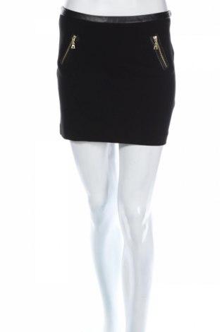 Φούστα Laura Scott, Μέγεθος S, Χρώμα Μαύρο, Κλωστοϋφαντουργικά προϊόντα, δερματίνη, Τιμή 6,15€
