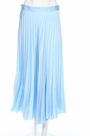 Fustă Zara, Mărime M, Culoare Albastru, Poliester, Preț 181,58 Lei