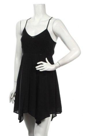Šaty  Abercrombie & Fitch, Veľkosť XXS, Farba Čierna, 52% bavlna, 48% viskóza, Cena  10,43€