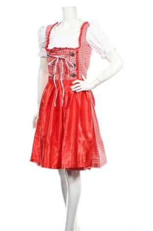 Рокля Gaudi Leathers, Размер S, Цвят Червен, 55% памук, 45% полиестер, Цена 24,92лв.