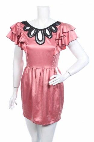 Рокля Lipsy London, Размер S, Цвят Розов, 96% полиестер, 4% еластан, Цена 12,08лв.