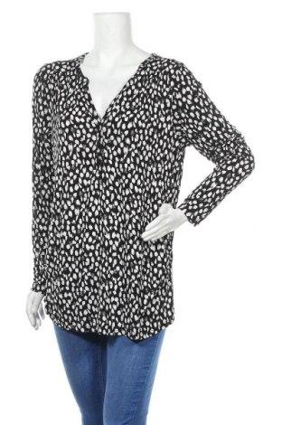 Блуза за бременни H&M Mama, Размер XL, Цвят Черен, 95% вискоза, 5% еластан, Цена 15,12лв.