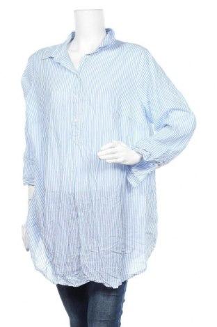 Блуза за бременни H&M Mama, Размер XL, Цвят Син, 100% памук, Цена 17,96лв.