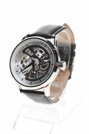 Ρολόι Akribos XXIV, Χρώμα Μαύρο, Γνήσιο δέρμα, μέταλλο, Τιμή 278,04€