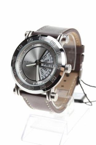 Ρολόι Akribos XXIV, Χρώμα Καφέ, Γνήσιο δέρμα, μέταλλο, Τιμή 308,18€