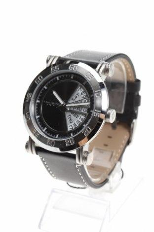 Ρολόι Akribos XXIV, Χρώμα Μαύρο, Γνήσιο δέρμα, μέταλλο, Τιμή 253,30€