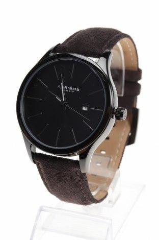 Ρολόι Akribos XXIV, Χρώμα Καφέ, Γνήσιο δέρμα, μέταλλο, Τιμή 77,19€