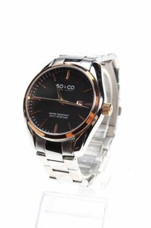 Ρολόι SO&CO New York, Χρώμα Γκρί, Μέταλλο, Τιμή 141,96€