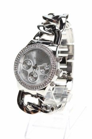 Ρολόι SO&CO New York, Χρώμα Γκρί, Μέταλλο, Τιμή 172,72€