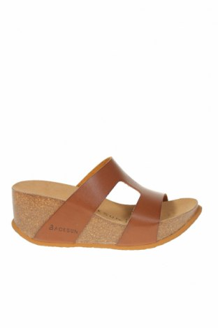 Papuci Backsun, Mărime 38, Culoare Maro, Piele ecologică, Preț 213,09 Lei