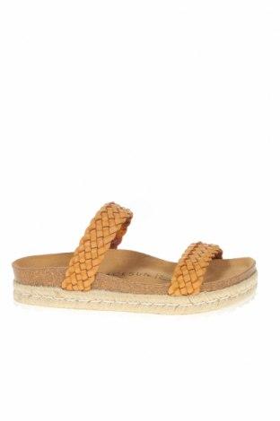 Papuci Backsun, Mărime 38, Culoare Maro, Piele ecologică, Preț 207,90 Lei
