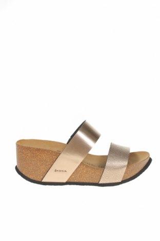 Papuci Backsun, Mărime 38, Culoare Bej, Piele ecologică, Preț 210,49 Lei
