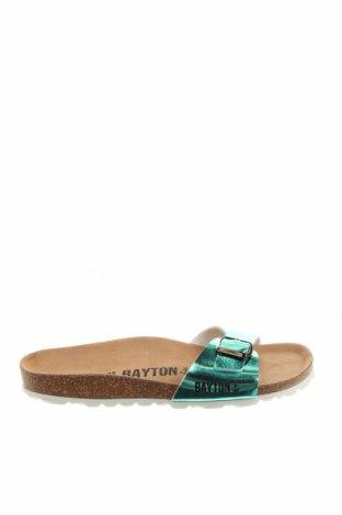Чехли Bayton, Размер 38, Цвят Зелен, Еко кожа, Цена 56,07лв.
