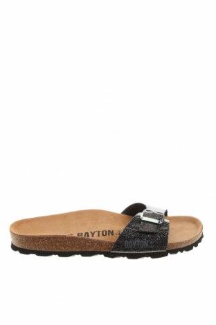 Чехли Bayton, Размер 38, Цвят Черен, Еко кожа, Цена 43,61лв.