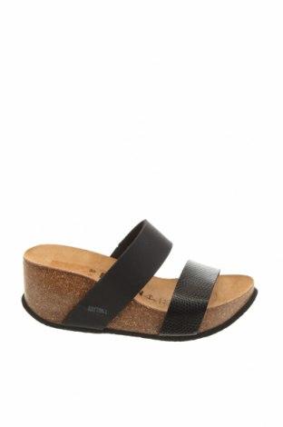 Papuci Bayton, Mărime 38, Culoare Negru, Piele ecologică, Preț 269,34 Lei