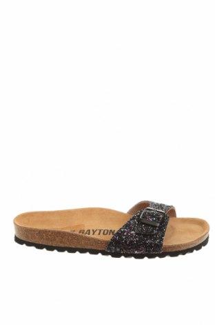 Чехли Bayton, Размер 38, Цвят Черен, Текстил, Цена 27,59лв.