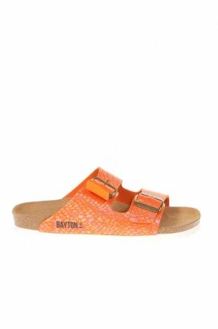 Чехли Bayton, Размер 38, Цвят Оранжев, Еко кожа, Цена 34,71лв.
