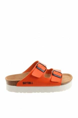 Чехли Bayton, Размер 38, Цвят Оранжев, Еко кожа, Цена 43,61лв.