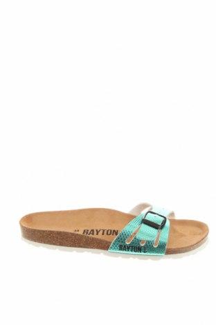 Чехли Bayton, Размер 38, Цвят Син, Еко кожа, Цена 28,48лв.