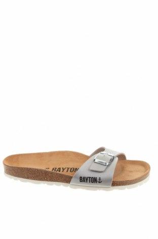 Чехли Bayton, Размер 38, Цвят Сив, Еко кожа, Цена 30,26лв.