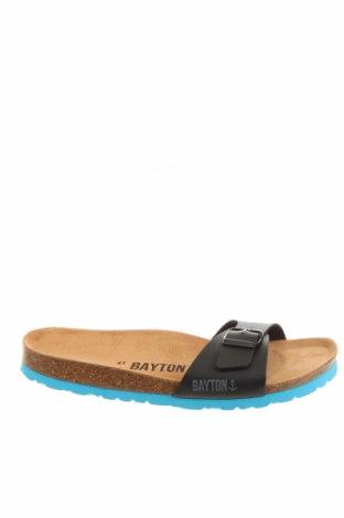 Чехли Bayton, Размер 41, Цвят Черен, Еко кожа, Цена 32,93лв.