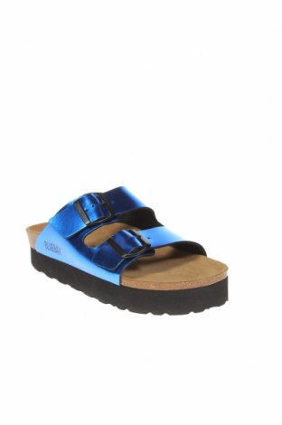 Чехли Blue Bay, Размер 38, Цвят Син, Еко кожа, Цена 83,93лв.