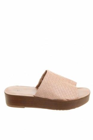 Чехли Clothing & Co, Размер 40, Цвят Розов, Еко кожа, Цена 27,41лв.