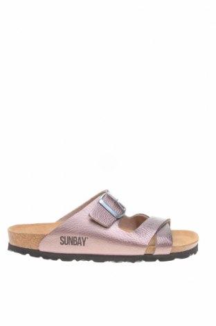 Чехли Sunbay, Размер 38, Цвят Розов, Еко кожа, Цена 52,14лв.