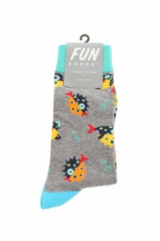 Κάλτσες, Μέγεθος L, Χρώμα Πολύχρωμο, 48% βαμβάκι, 44% πολυαμίδη, 5% πολυεστέρας, 3% ελαστάνη, Τιμή 6,03€